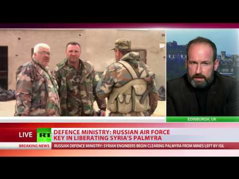 'Russian participation was game-changer' - John Wright on Palmyra recapture