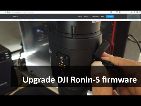 How To Upgrade Ronin-S Firmware