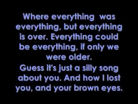 Brown Eyes - Lady GaGa Lyrics.mp4