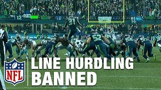 Farewell Field Goal Line Hurdling | NFL