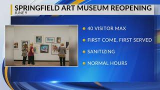 VIDEO: Museum reopens June 9