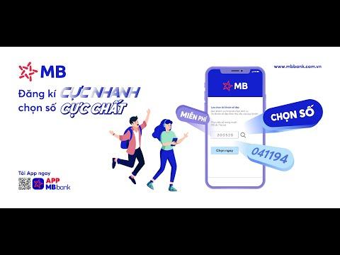 Hướng dẫn định danh tài khoản MB Bank NGAY TẠI NHÀ