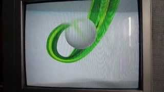 Xbox 360 slim on old TV (review) HD