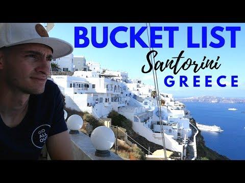 Bucket List: Santorini, Greece