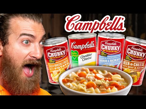 What's The Best Cheesy Campbell Soup? (Taste Test)