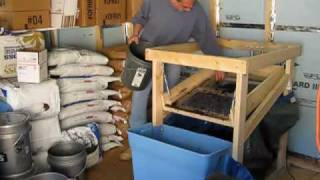 Homemade Worm Castings Harvester - Soil Sifter