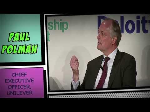 Unilever's Paul Polman on post-2015 Millennium Goals progress | London Business School