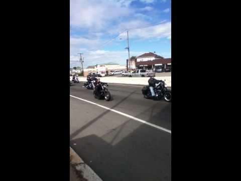 New jersey Biker parade route 46