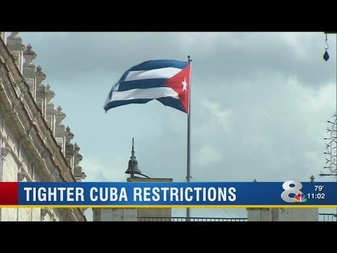 Travel restrictions to Cuba