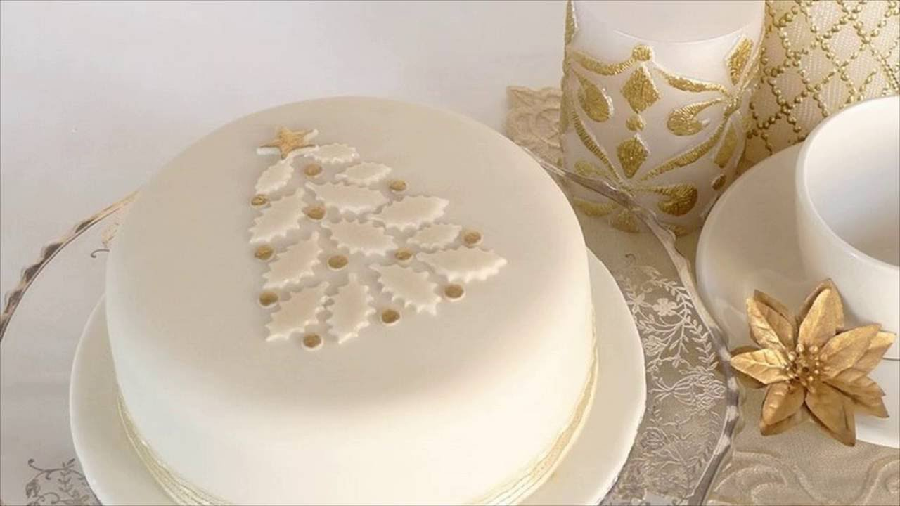 xmas cake decorating ideas