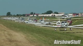 Minimum Interval Departures on Runway 27 (Thursday) - EAA AirVenture Oshkosh 2015