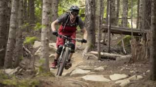 Knolly Bikes Endorphin shreds Whistler Bike Park