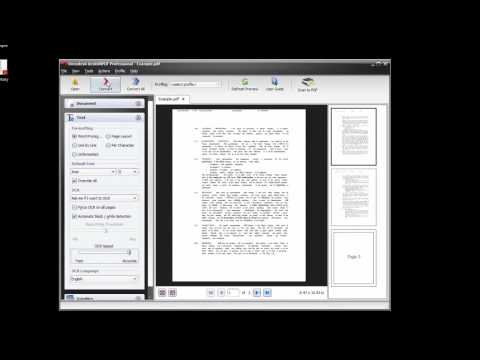 How To Convert Scanned PDFs To Word and Excel