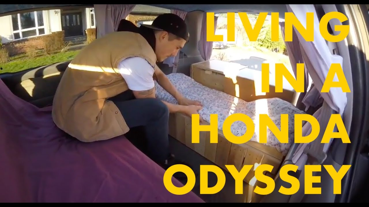 Honda Odyssey Camper Conversion Youtube