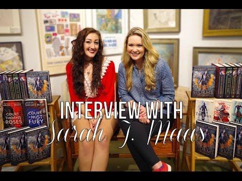 INTERVIEW WITH SARAH J MAAS.