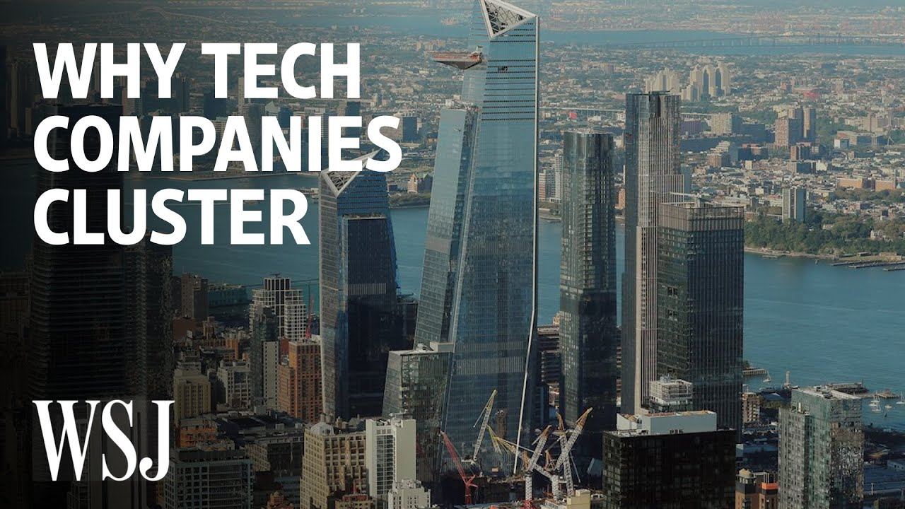 Why Tech Firms Flock to Expensive Cities   WSJ