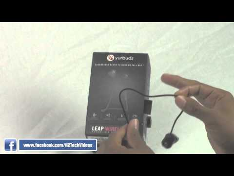 Yurbuds Leap WIreless Earbuds Review (They'll Never Fall Out!!!) | H2TechVideos