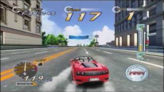 OutRun2 XBox Bonus Stage: Daytona USA 2 Power Edition Challenge Course (US Version Widescreen)