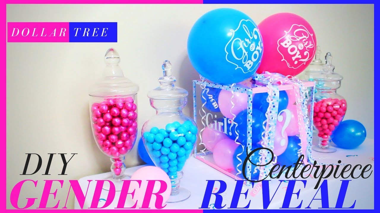 DIY Gender Reveal Box | DIY Gender Reveal Ideas | Gender ...