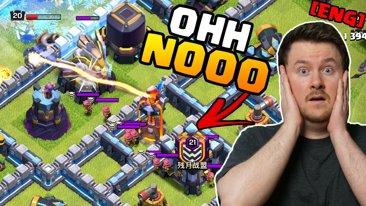I forgot to use the Lightning Spell and THIS happend   Safe the Legend Attack ?!   #clashofclans