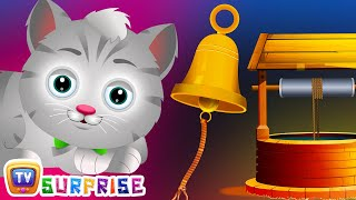 Repeat youtube video Surprise Eggs Nursery Rhymes Toys | Ding Dong Bell | Learn Colours & Objects | ChuChu TV
