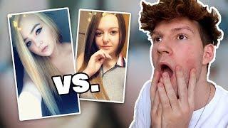 Meine Zuschauer GESCHMINKT vs. UNGESCHMINKT (sehr Erstaunlich! 😳)