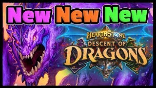 Descent Of Dragons - New Hearthstone Cards, Mechanics & Modes!