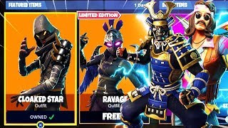 Fortnite New UNRELEASED SKINS UNLOCKED BY THELEGEND_GAMER