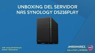Unboxing del NAS DS216play
