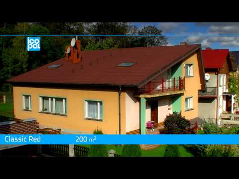 Icopal Rolled Tiles 3D® Roofer - Single-family house