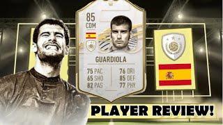 IS PEP GUARDIOLA ANY GOOD? 👀 (85) BASE ICON GUARDIOLA REVIEW! - FIFA 21