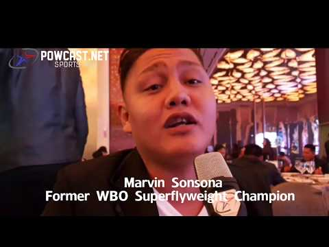 Marvin Sansona: The Most Epic Interview with former WBO Superflyweight champ
