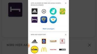 Kann ich mit meinem bloßen Google Play konto über Google Pay mobil bezahlen?