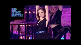 anna kendrick s booty vs john krasinski s proud mary   lip sync battle