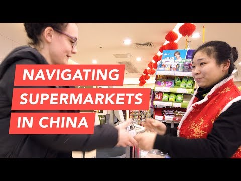 How to Navigate a Chinese Supermarket in Beijing, China