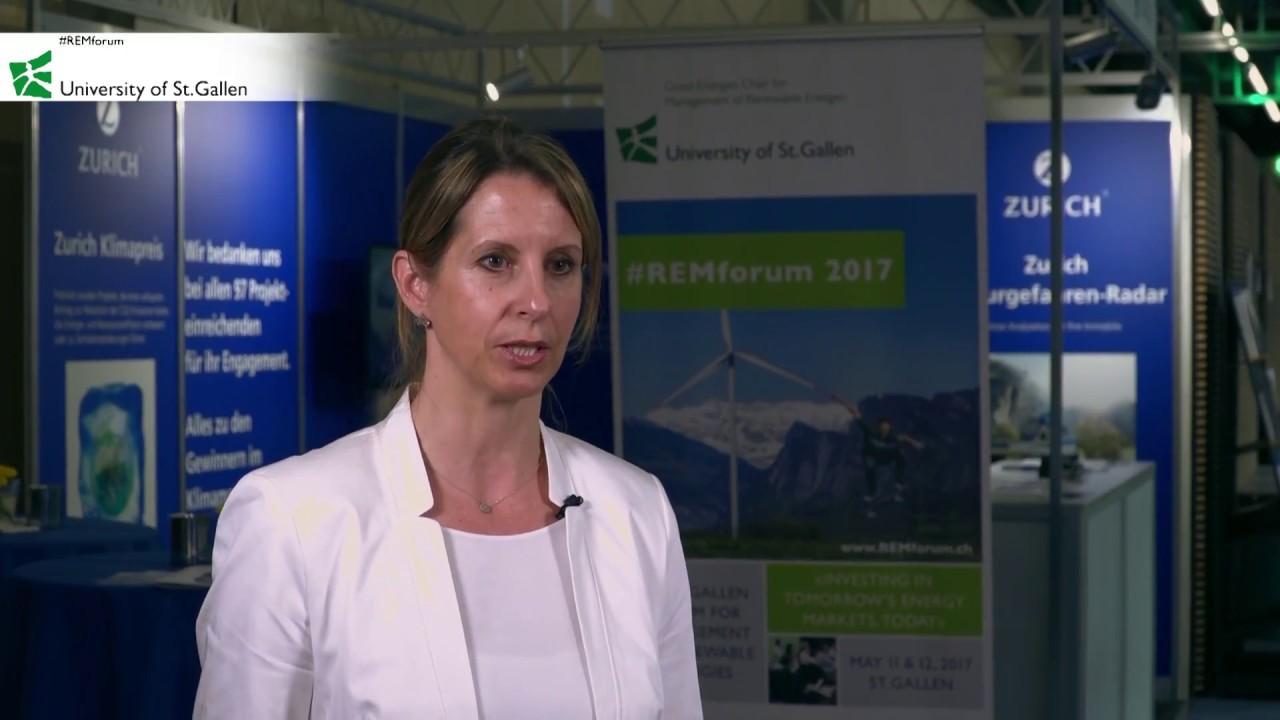 Barbara Jordan Zurich Insurance Switzerland At Remforum 2017