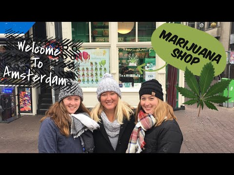 Amsterdam, Netherlands- Legal weed, red light district, and leaving for Brussels Belgium