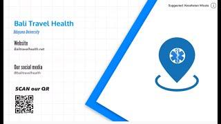 Bali Travel Health