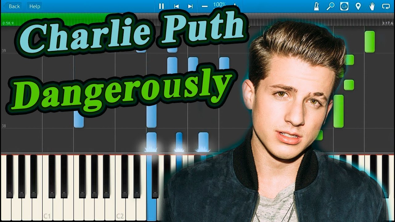 charlie puth eyebrow tutorial. charlie puth - dangerously [piano tutorial] synthesia eyebrow tutorial