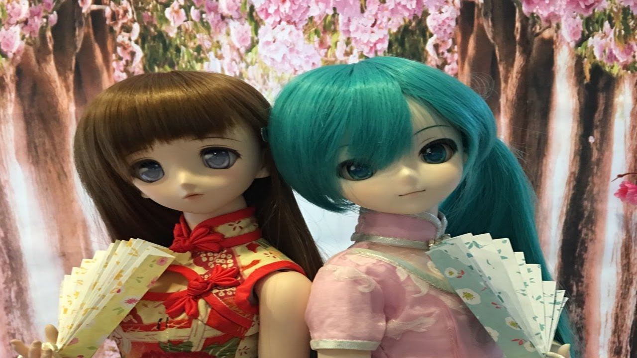 Anime doll party