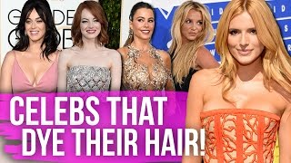 11 Celebs You Didn't Know Dye Their Hair! (Dirty Laundry)