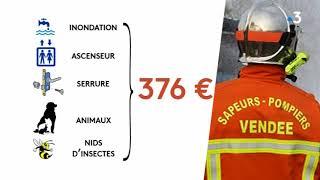 Vendée : des interventions de pompiers deviennent payantes