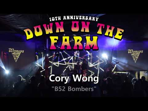Cory Wong - Down On The Farm Music Festival 2018