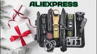7 Набор выживания с Алиэкспресс Aliexpress Survival kit Крутые товары для выживания 2020 Гаджеты Топ