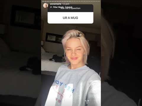 Anne Marie Answer About Relationships With Ed Sheeran (Q And A Instagram)