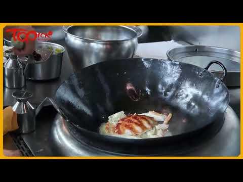大廚教薑蔥炒蟹