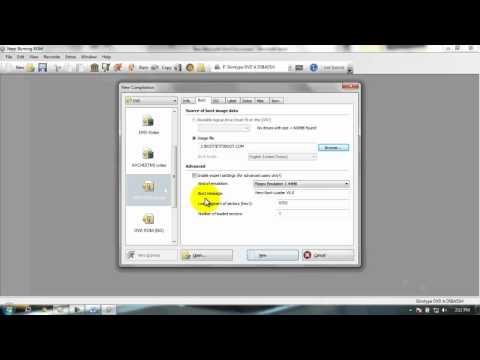 How to Create Bootable Windows Disc with Nero
