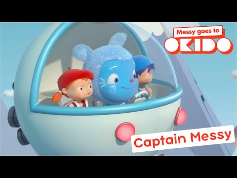 Messy Goes To Okido | CAPTAIN MESSY | COMPILATION | Cartoons For Children | Funny Cartoons