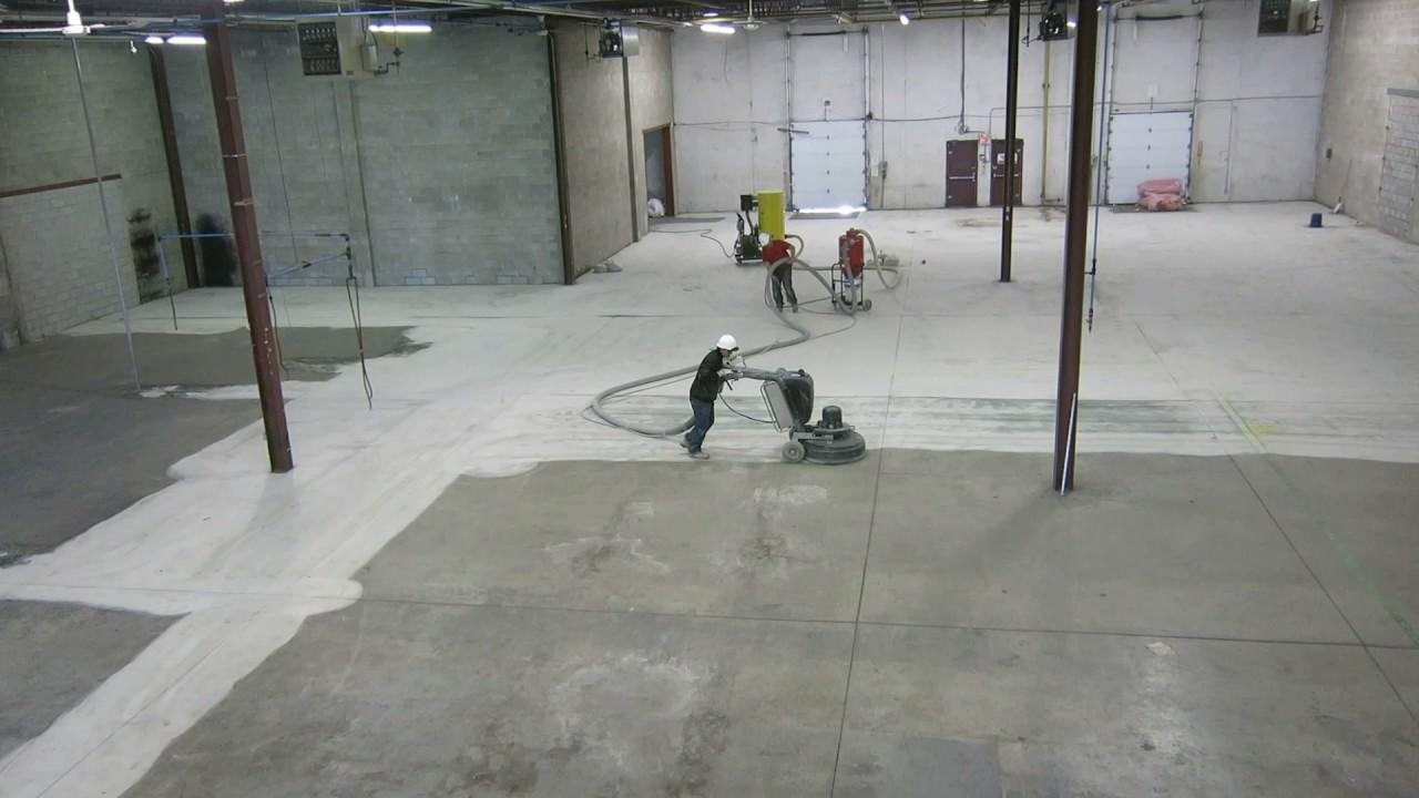 Concrete Floor Surface Preparation By
