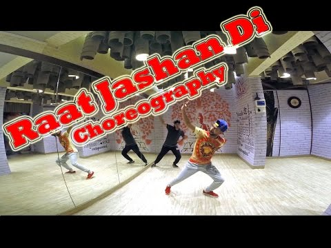 Raat Jashan Di by Yo Yo Honey Singh, Dance Choreography by RVJ @ Gyrate Dance Co. | BrainFit Studio